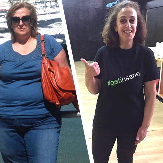 Maria Dulce em 11 meses perdeu 30 kg com a Dieta EasySlim®