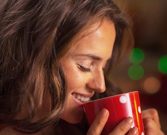 Beba chá por tudo e por nada