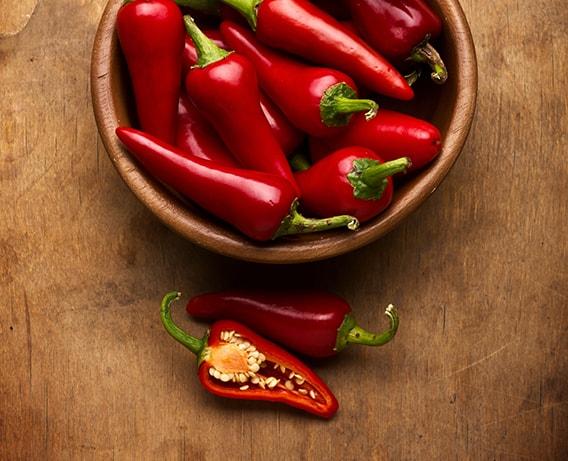 Malagueta, picante e saudável
