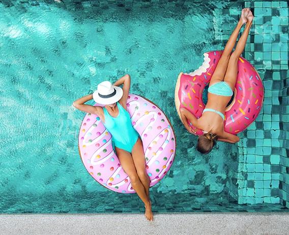 Faça férias, mas não da dieta.