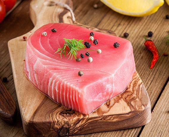 As propriedades do atum