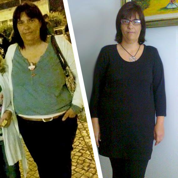 A Isabel conseguiu perder 22kg em 5 meses com a Dieta EasySlim®