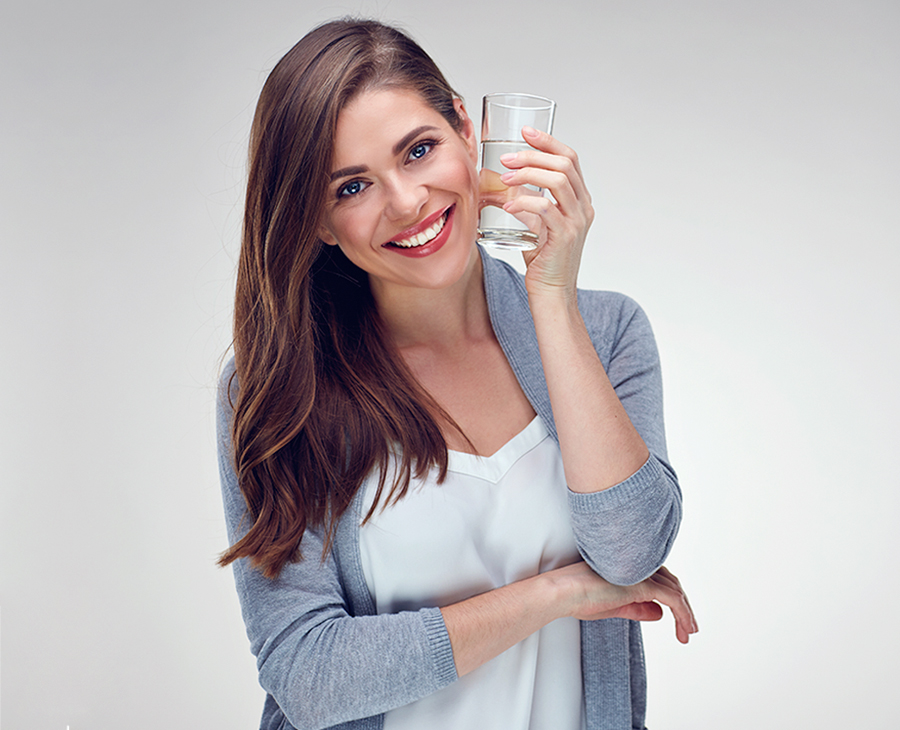 Já bebeu água suficiente hoje?