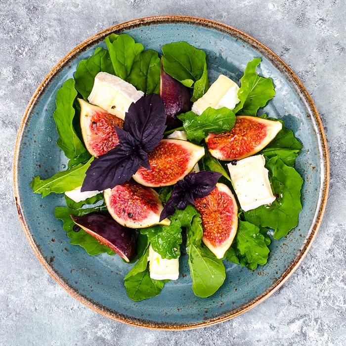 Salada de Figos e Rúcula