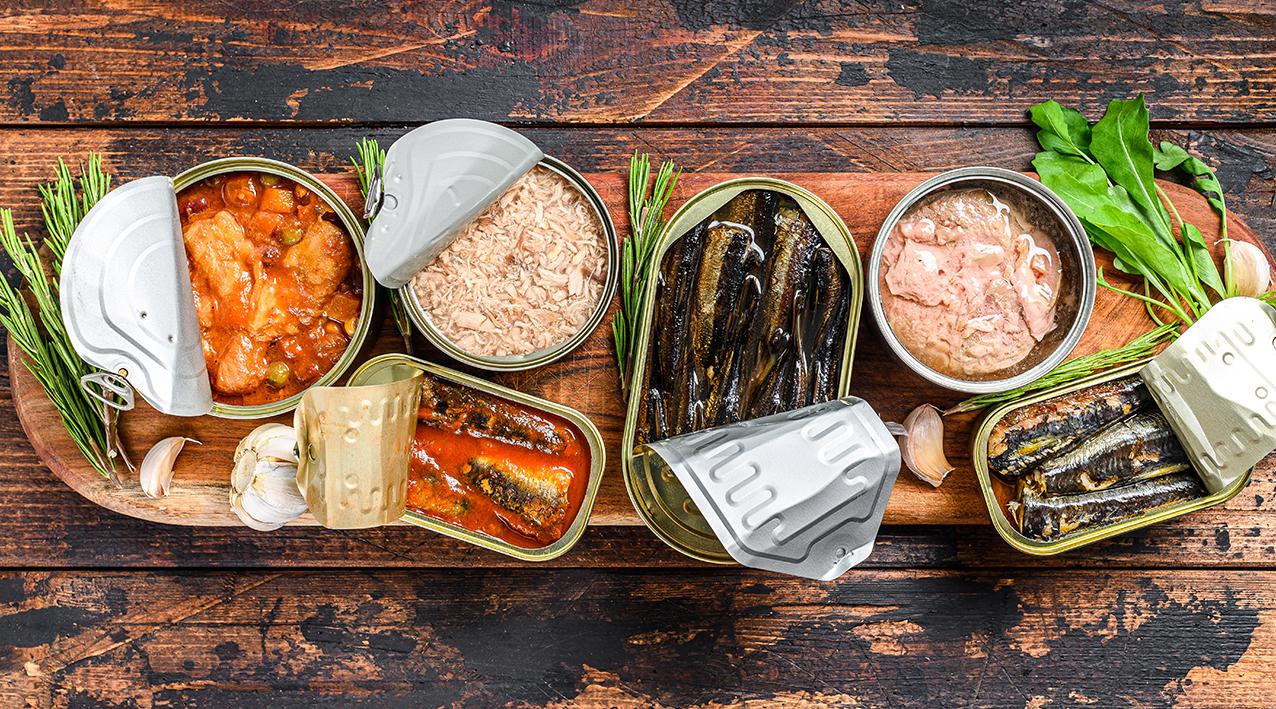Conservas – Opção Adequada para uma Alimentação Saudável?