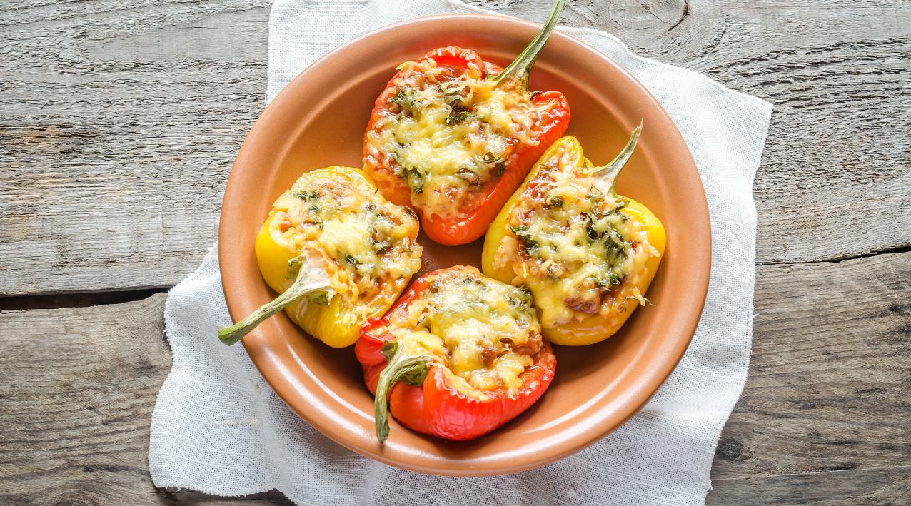 Pimentos Recheados com Chili